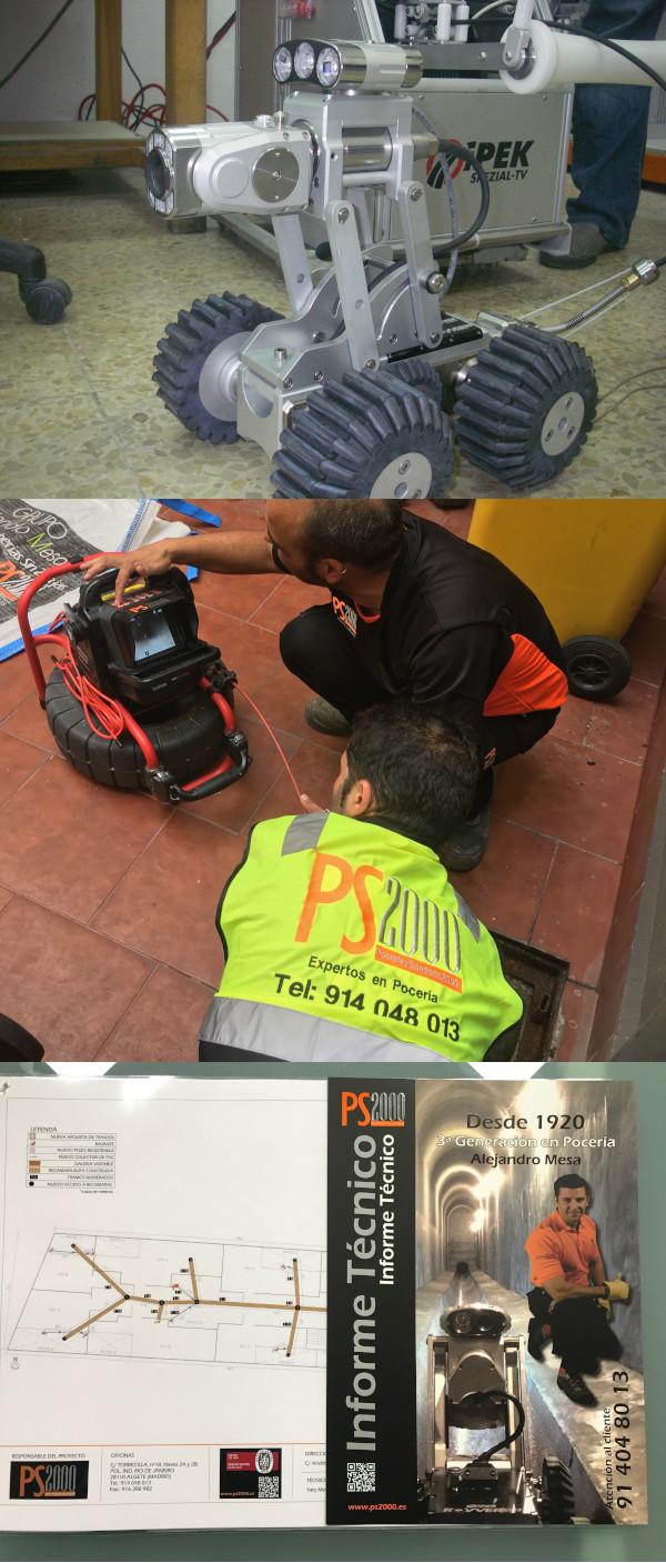 PS2000 Inspección e informe técnico